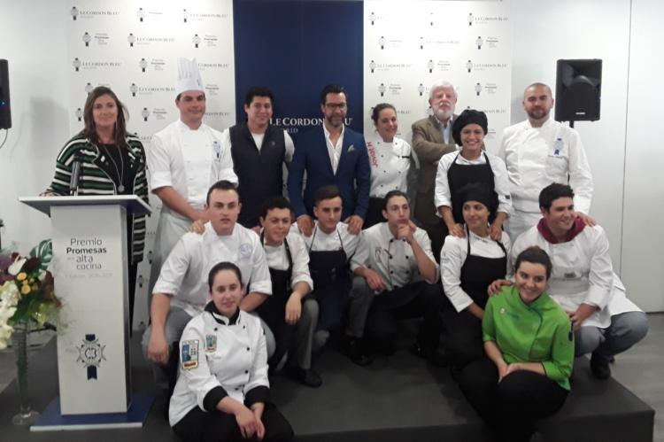 Ezequiel Álvarez, estudiante de cocina de la Escuela de Hostelería y Turismo de Girona, ganador del V Premio Promesas de alta cocina 'Save the date' 4