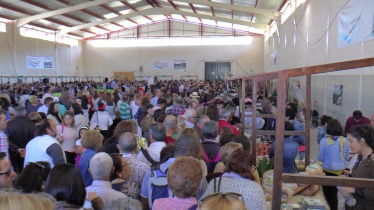La IX Feria del Queso Artesanal de Andalucía cierra con récord de asistencia y de ventas