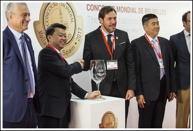 China será la sede del Concours Mondial de Bruxelles 2018