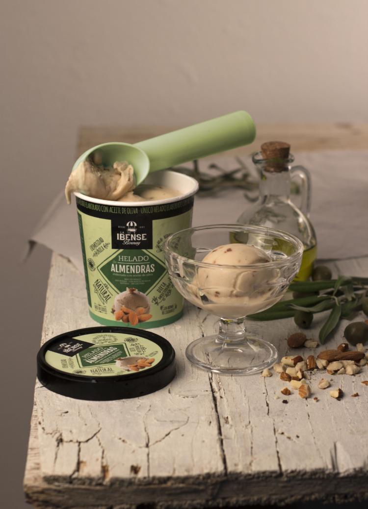 La Ibense Bornay crea un nuevo concepto de helado, la primera gama elaborada con aceite de oliva