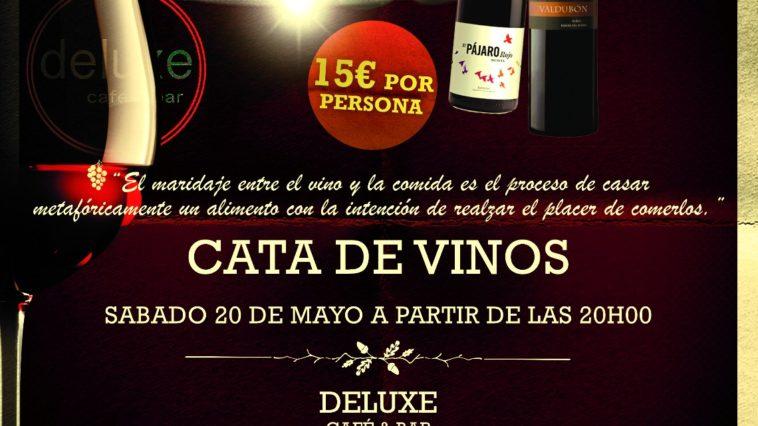 Cata del mes de mayo de vinos 'robles' en el Café Bar Deluxe 1