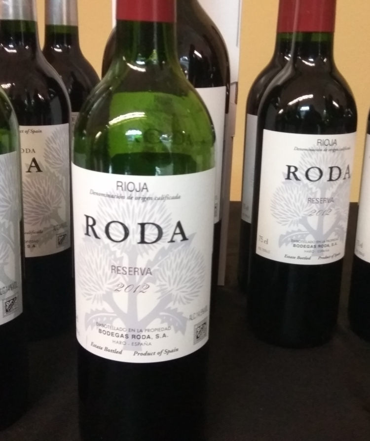 Catamos Roda Reserva 2012, Rioja 1