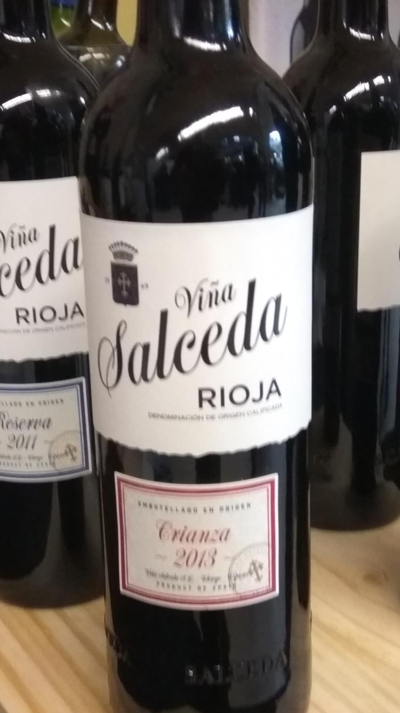 Catamos Viña Salceda Crianza 2013, Rioja 1