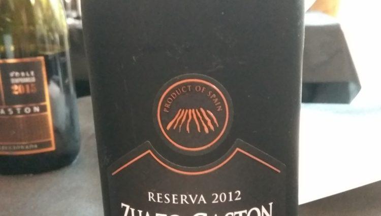 Catamos Zuazo Gaston Reserva 2012, Rioja 1