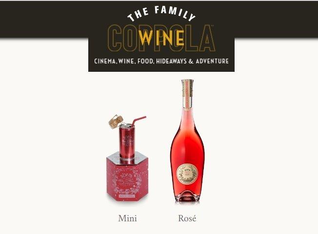 Nuevo vino rosado de la Francis Ford Coppola Winery 1