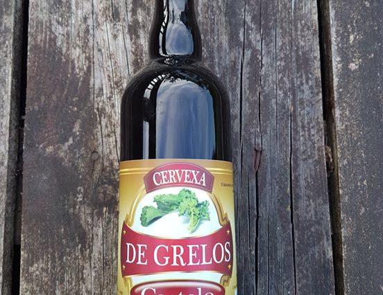 Sale al mercado la primera cerveza gallega elaborada con grelos de Lugo 1