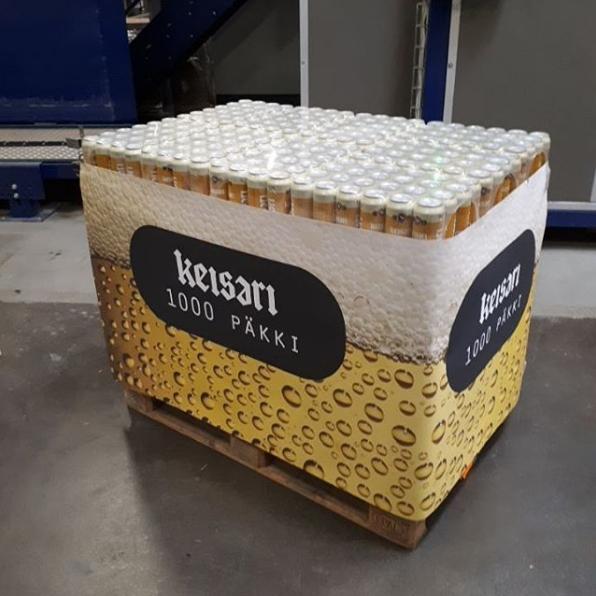 Una cervecera finlandesa saca al mercado un pack de 1080 botes 1