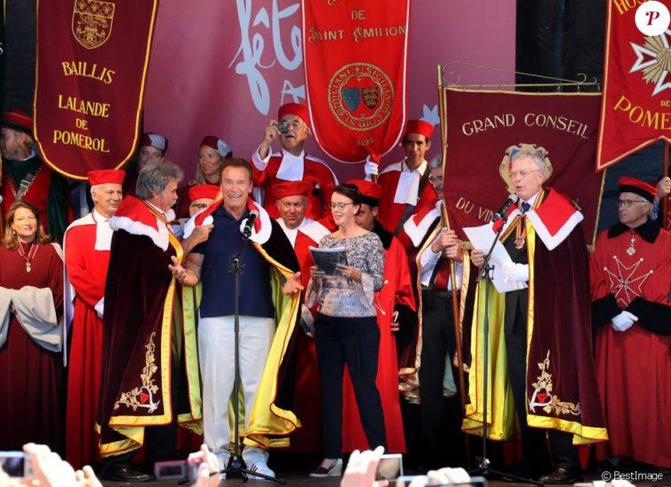 Arnold Schwarzenegger nombrado embajador de la región francesa de Burdeos por Le Grand Conseil des Vins 1