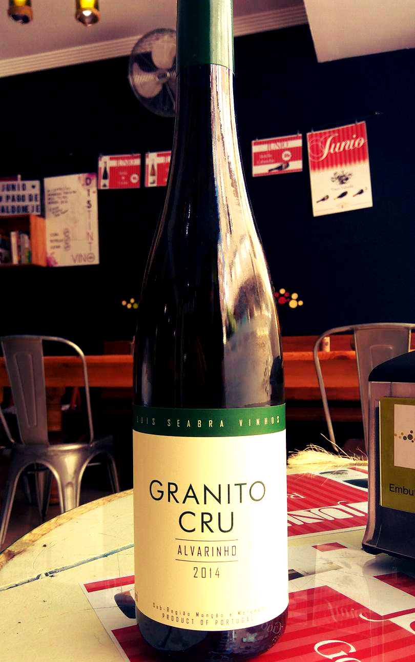 Catamos Granito Cru Alvarinho 2014, Vinho Verde 1