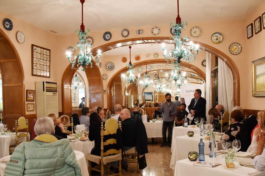 Cocina y vino del Empordà en la campaña gastronómica Cenas Maridaje 1