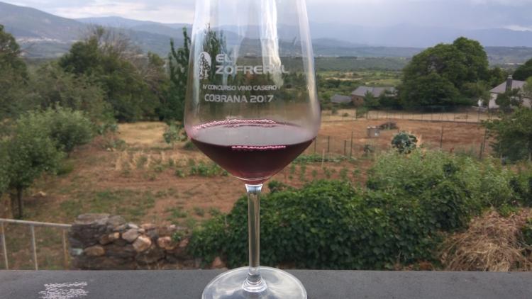 Vino Ganador del IV Concurso de Vino Casero Cobrana 2017