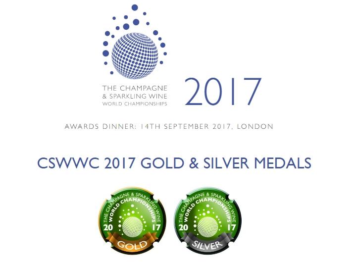 Resultados del The Champagne & Sparkling Wine World Championships 2017