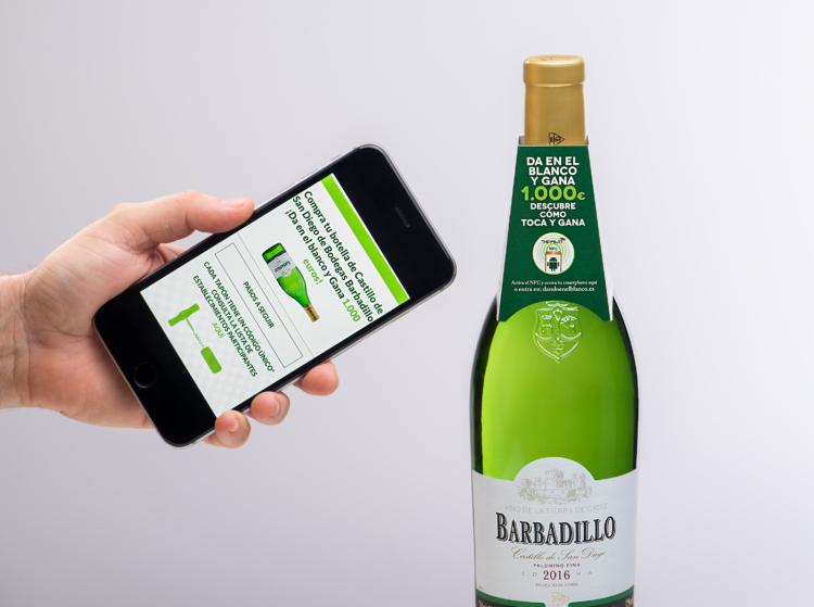 Barbadillo primera bodega en usar la tecnología de Thinfilm para lanzar el mayor despliegue mundial de NFC en la industria del vino y bebidas espirituosas 1