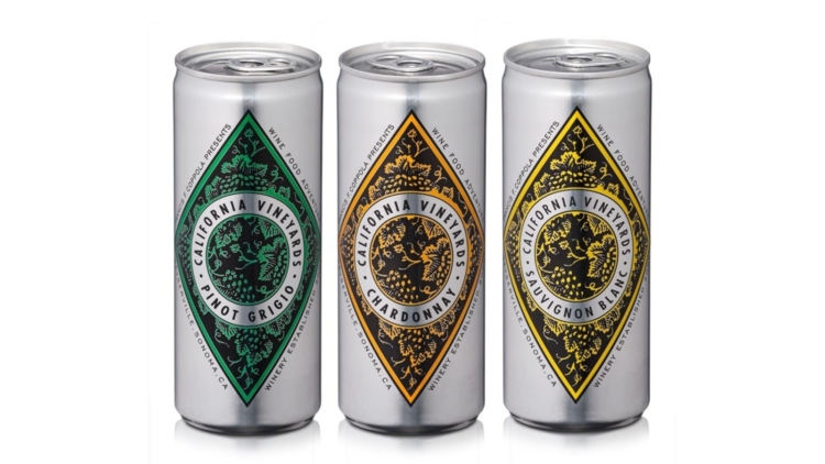 Francis Ford Coppola Winery lanza sus vinos blancos Diamond Collection en latas 1