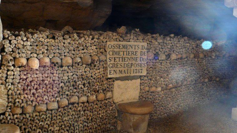 Roban 300 botellas de vino en una bodega privada en París a través de las catacumbas romanas de la ciudad 1