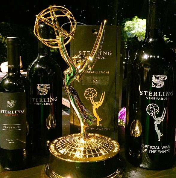 Sterling Vineyards será el patrocinador exclusivo del vino en los 69º premios Emmy 2