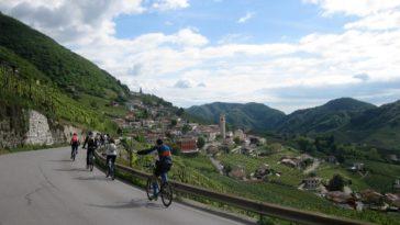 Paseo cicloturista entre los viñedos del PROSECCO 1