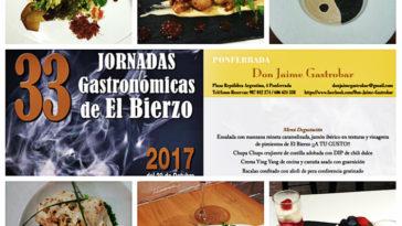 Asistimos a las 33ª Jornadas Gastronómicas del Bierzo a Don Jaime Gastrobar 9