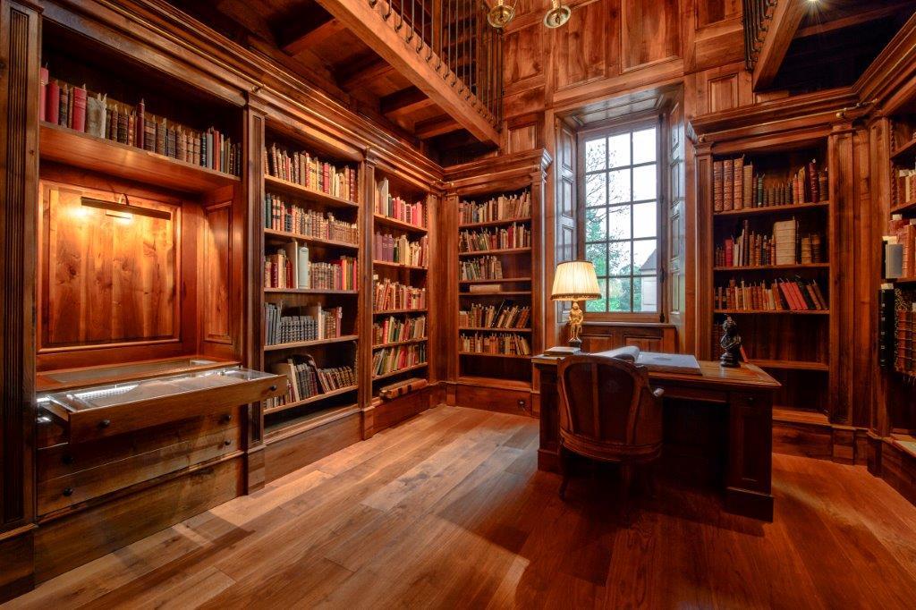 Château Haut-Brion posee una de las mejores bibliotecas sobre el mundo del vino y su maridaje 1
