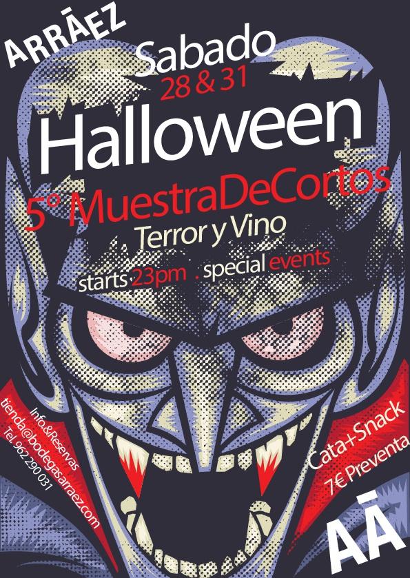 Cortos de Terror, vino y sobresaltos, este Halloween en bodegas Arráez 1