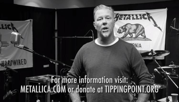 Metallica participará en un concierto a beneficio de los damnificados por los incendios de California 1
