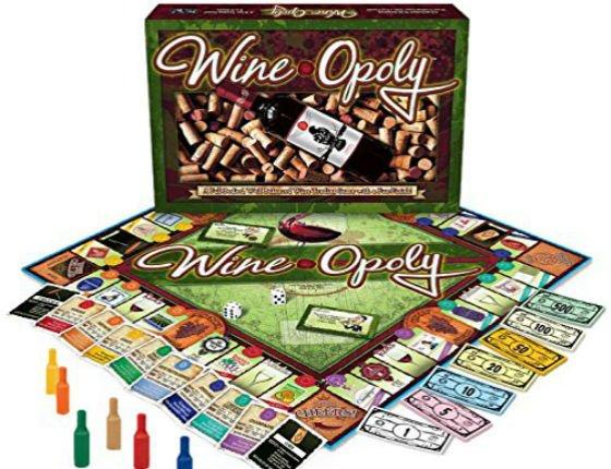 ¿Te gustaría jugar al Wine-Opoly (el Monopoly del vino)? 1