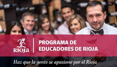 El Consejo Regulador de la D.O.Ca. Rioja abre la convocatoria de la tercera promoción del 'Programa de Educadores oficiales de Rioja' 1