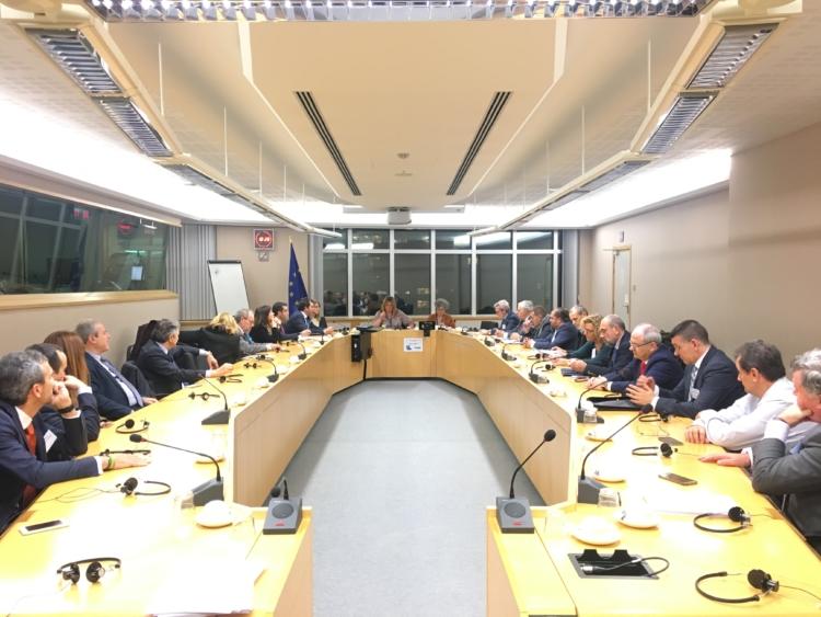 La DOCa Rioja presente en el primer congreso EFOW en Bruselas 1