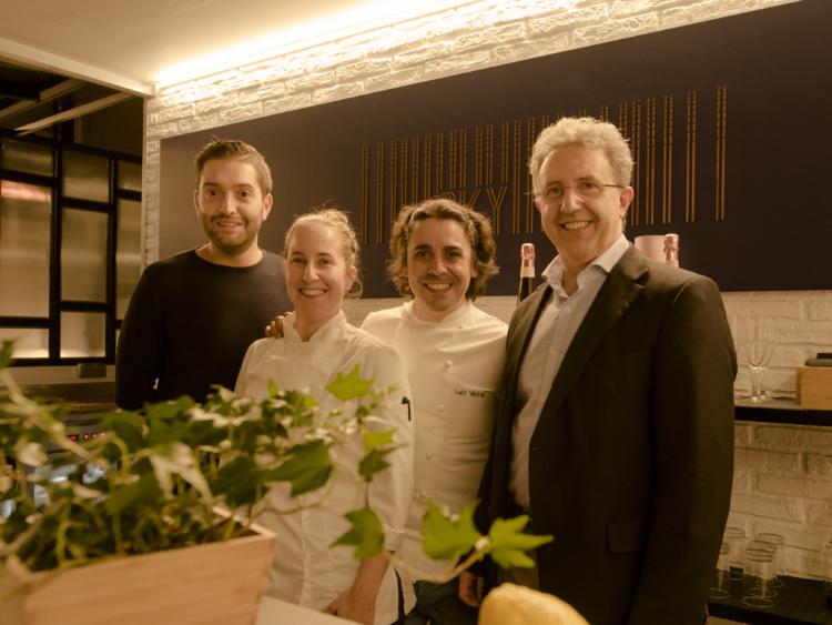 Se inaugura la terraza SKY BAR en el Hotel Plaza de la mano del chef Estrella Michelin Luis Veira 1
