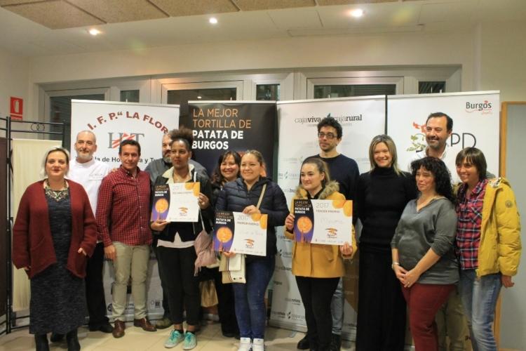 Ya tenemos ganadores del IV Concurso 'La Mejor Tortilla de Patata de Burgos' 3