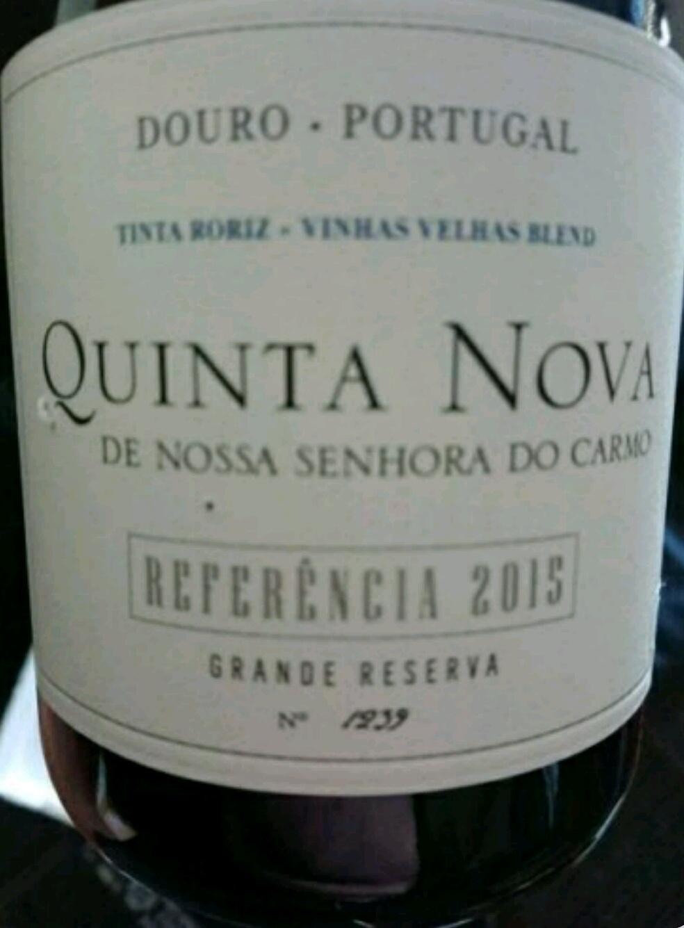 Catamos Quinta Nova de Nossa Senhora do Carmo Douro Grande Reserva Referencia 2015 1