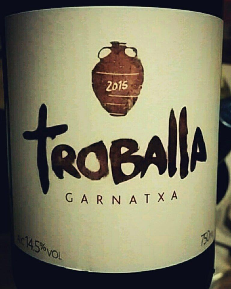 Catamos Troballa Garnatxa 2015, DO Costers Del Segre Cata 1