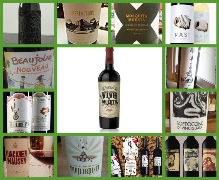 De las mejores etiquetas de vino que nos hemos encontrado este año