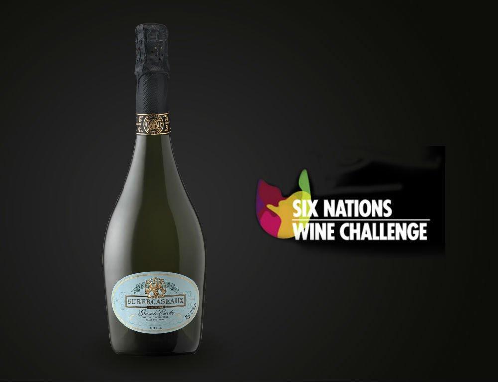Medalla de Oro para Subercaseaux Grande Cuvée en Six Nations Wine Challenge 1