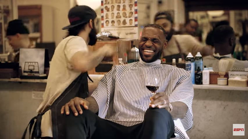 LeBron James es winelover 1