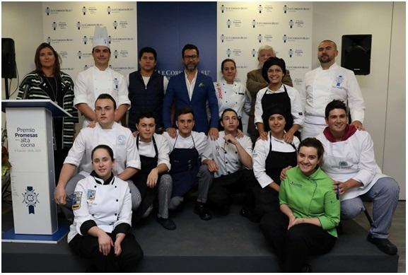 LE CORDON BLEU anuncia los 10 finalistas que competirán por elVI Premio Promesas de la Alta Cocina